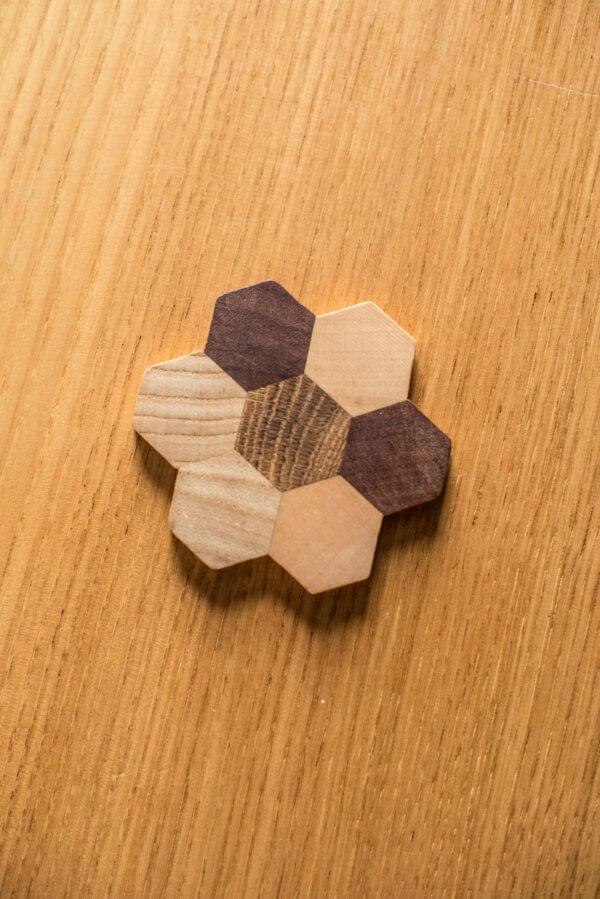 Single Wooden Coaster